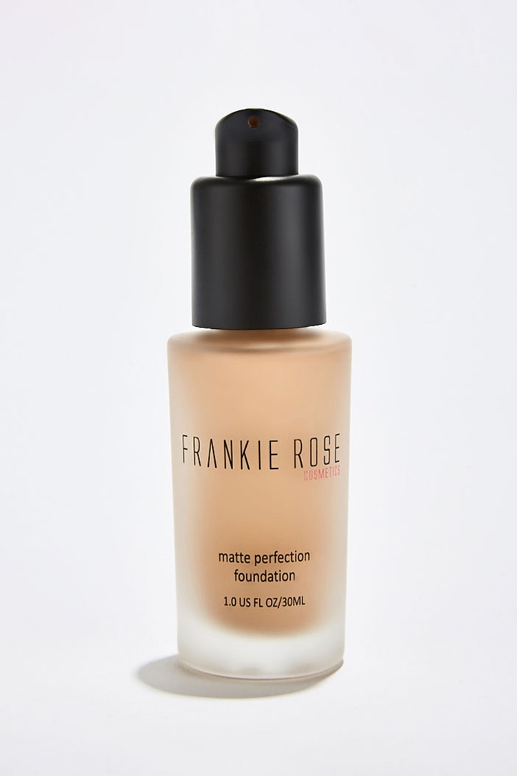Forever 21 coupon: Matte Perfection Foundation in Cappuccino